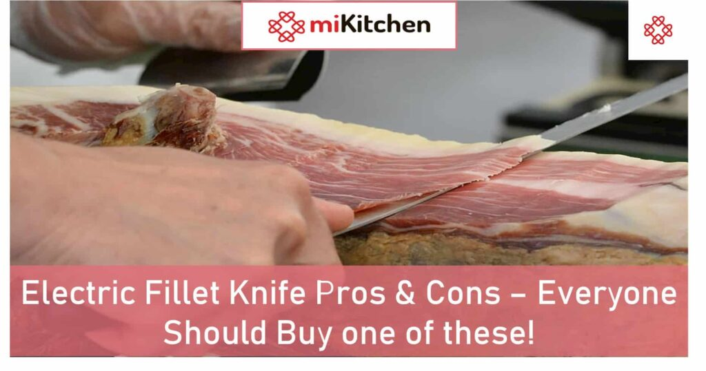 Electric Fillet Knife Pros & Cons – Everyone Should Buy one of these