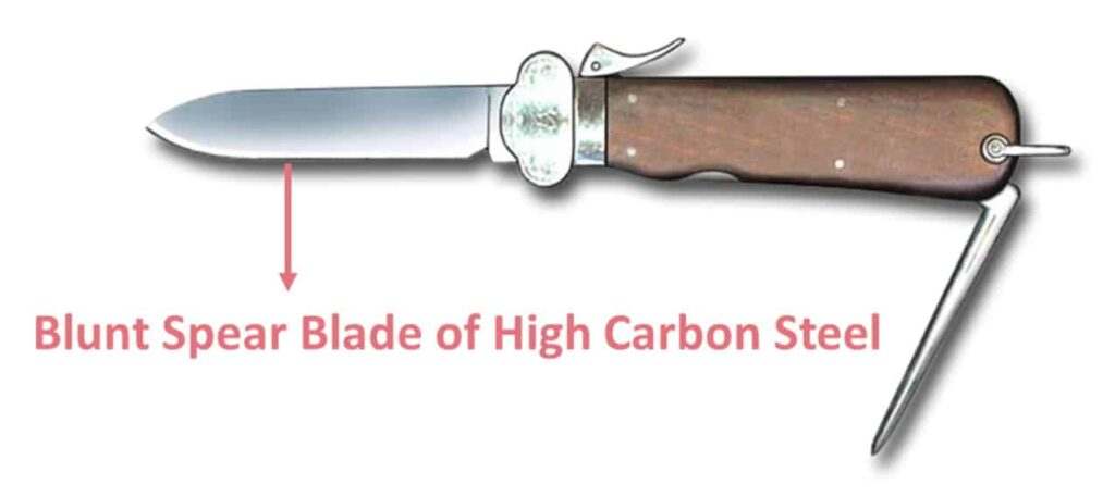 Features of gravity Knife