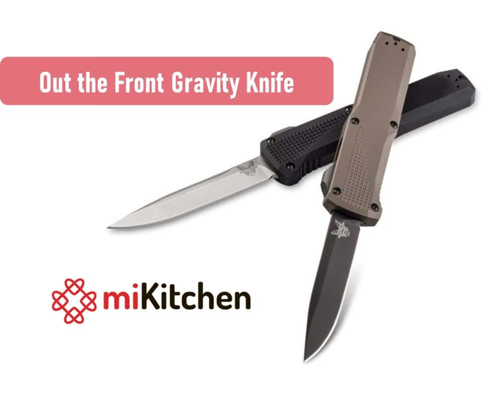 out the front gravity knife