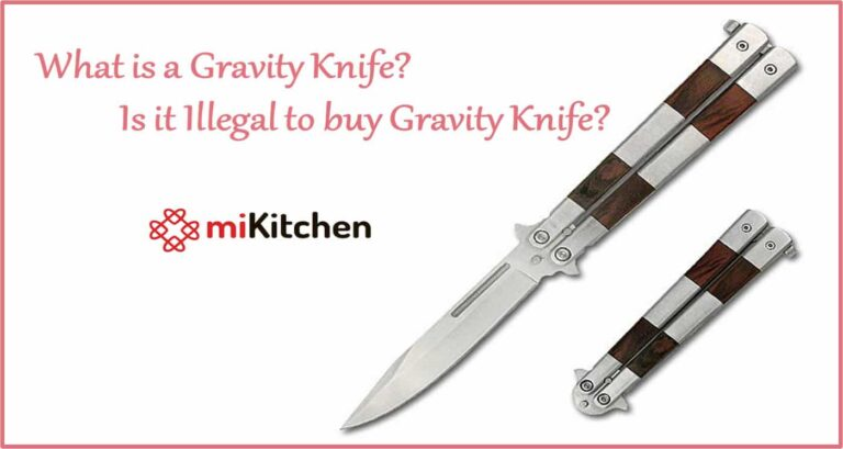 what is a gravity knife