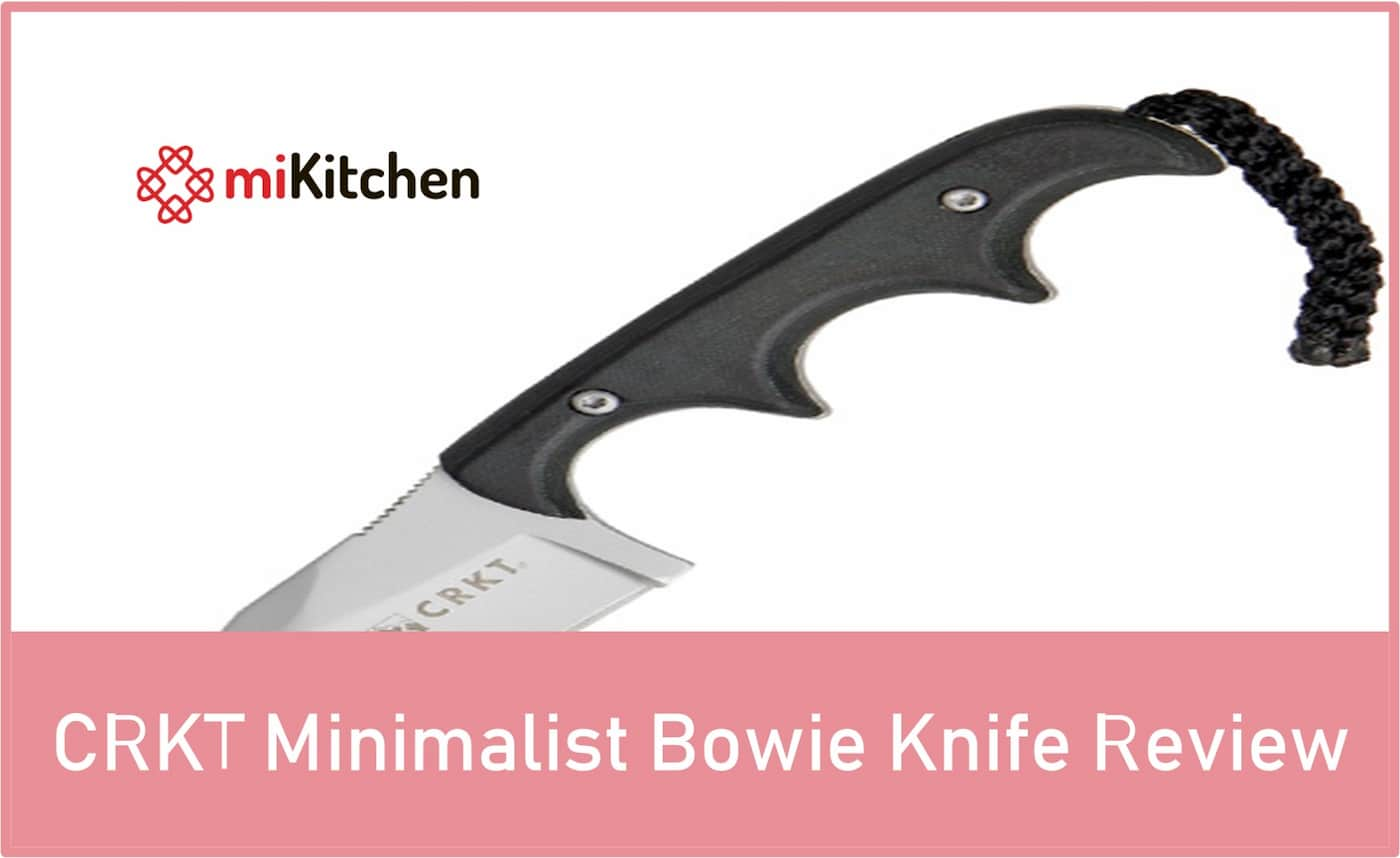 CRKT Minimalist Bowie Knife Review
