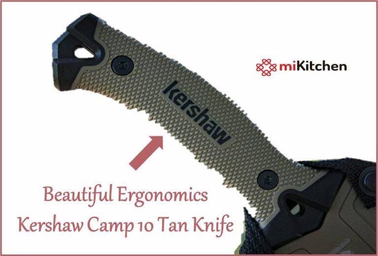 Beautiful ergonomics of camp blade